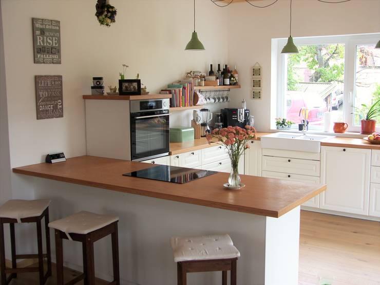 Projekty,  Kuchnia na wymiar zaprojektowane przez PassivHausPartschefeld