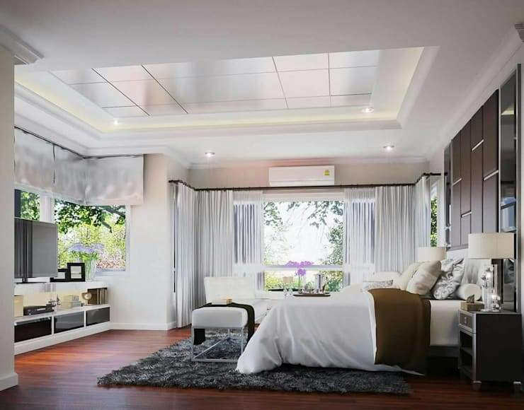 Q house avenue พระราม5:   by IDG interior decoration studio Co.,Ltd.