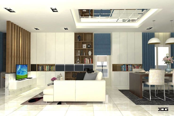 Project. Nirvana กัลปพฤกษ์-สาทร:   by IDG interior decoration studio Co.,Ltd.