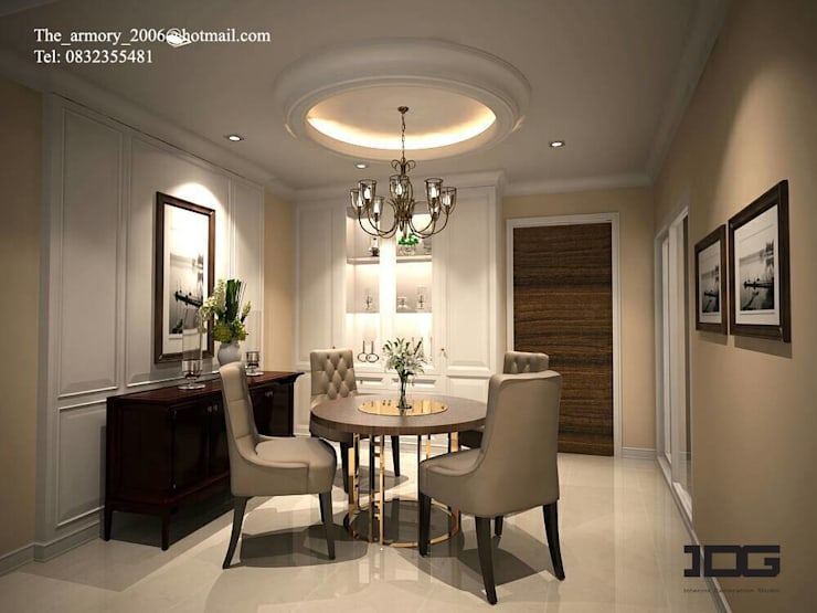Project. Suparai orima riva rama3:   by IDG interior decoration studio Co.,Ltd.