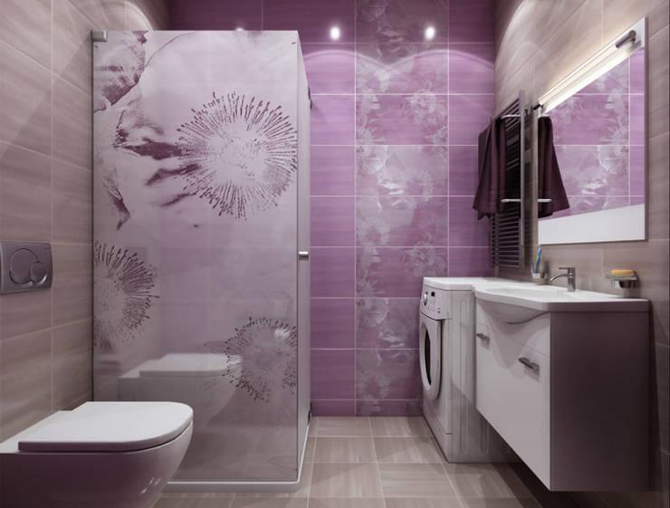 BRAMBLE: Ванные комнаты в . Автор – Студия дизайна и визуализации интерьеров Ивановой Натальи.