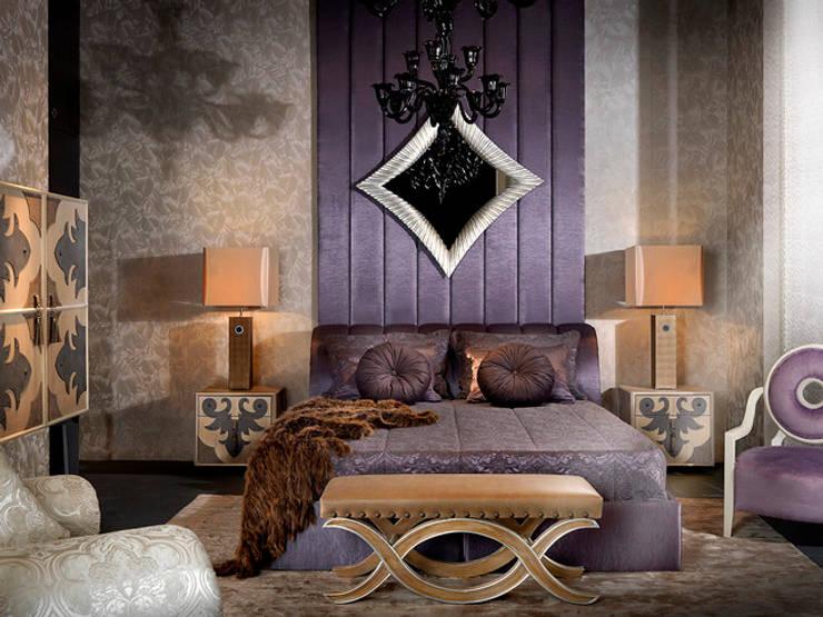 VALENTINA bedroom with Alba bed: modern Bedroom by S. T. Unicom Pvt. Ltd.