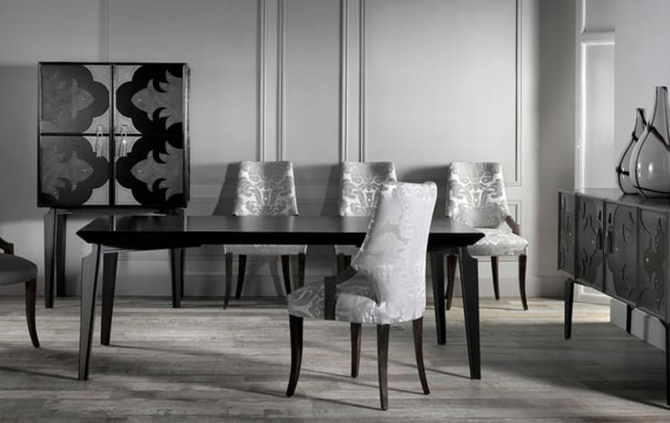 VALENTINA dining room: modern Dining room by S. T. Unicom Pvt. Ltd.