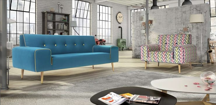 Ruang Keluarga Modern Oleh Intense mobiliário e interiores; Modern