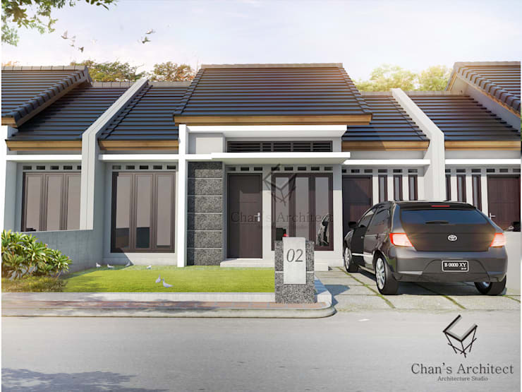 Mrs.Emilia's House:  Rumah by Chans Architect