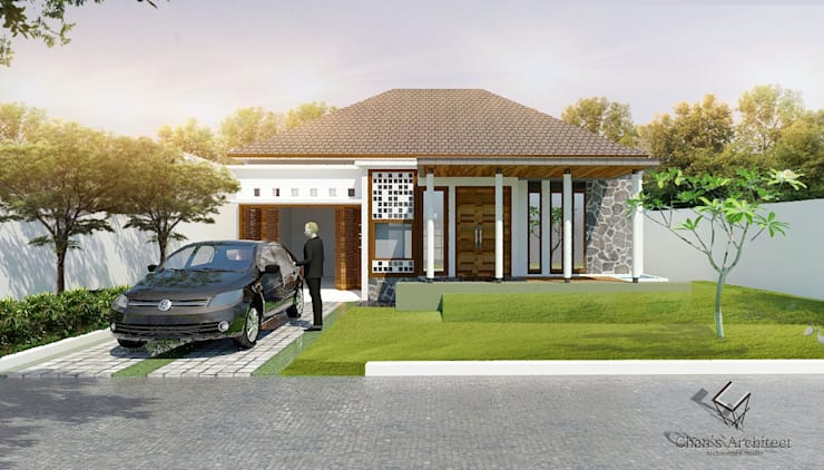 Mr. wira's House:  Rumah by Chans Architect