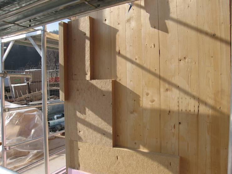 Rumah prefabrikasi oleh STUDIO ABACUS di BOTTEON arch. PIER PAOLO, Country Kayu Wood effect