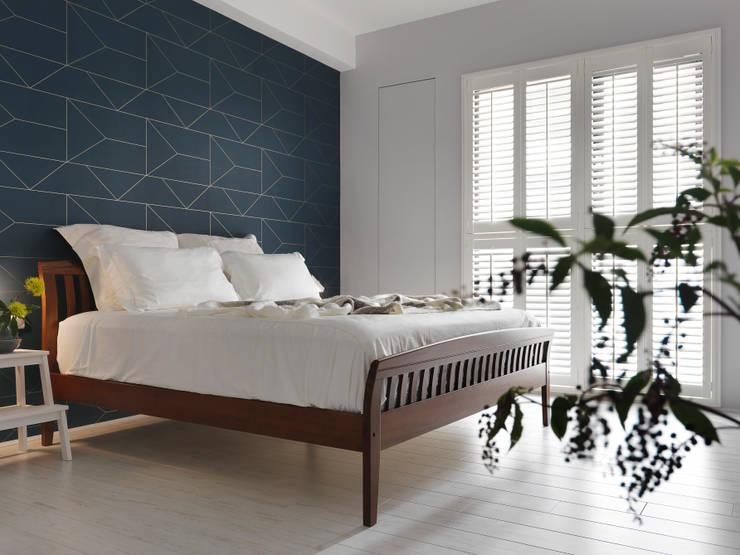 木星上的北歐幻想:  臥室 by 賀澤室內設計 HOZO_interior_design