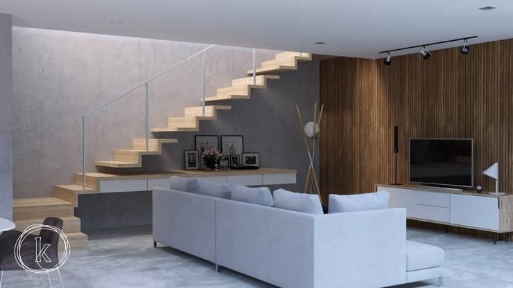 Ruang Keluarga:  Ruang Keluarga by Kalytera Studio