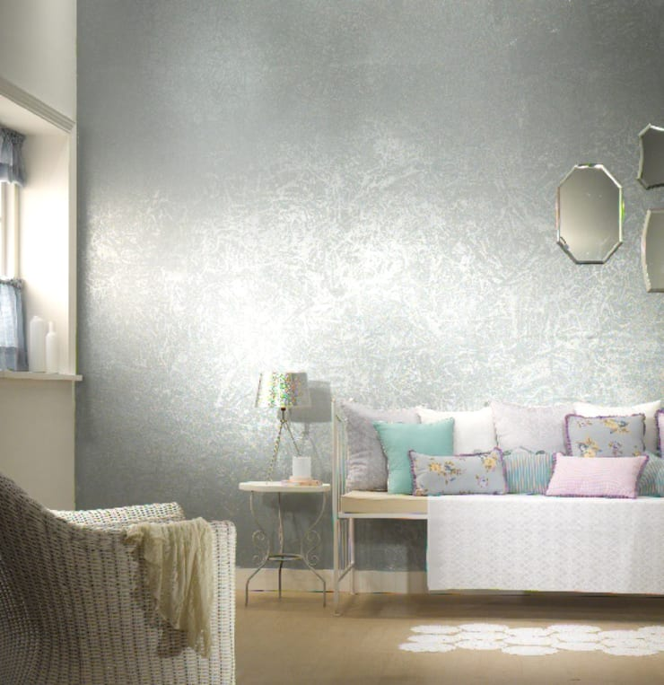 Living room by Papersky Studio, Minimalist