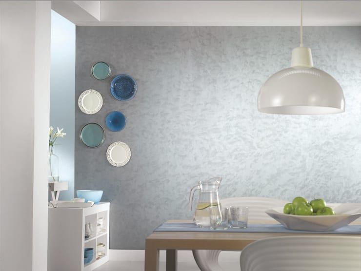Dining room by Papersky Studio, Minimalist