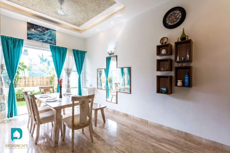 Mr Harsh's Residential Project- :  Dining room by Design  Cafe