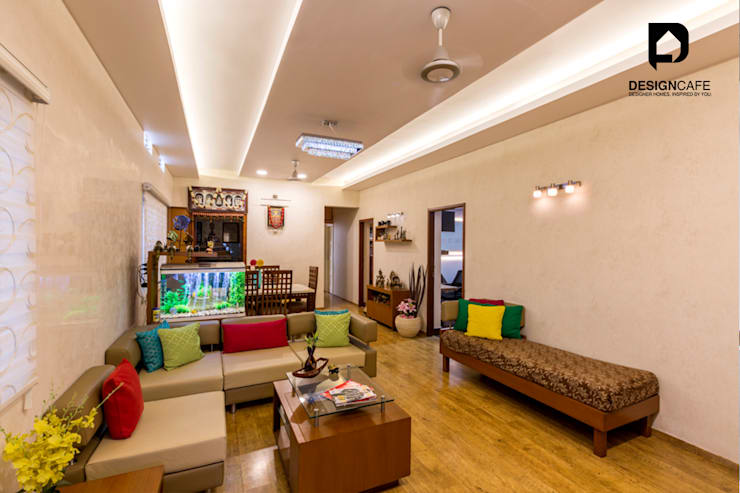 Pavan's Residence: modern Living room by Design  Cafe