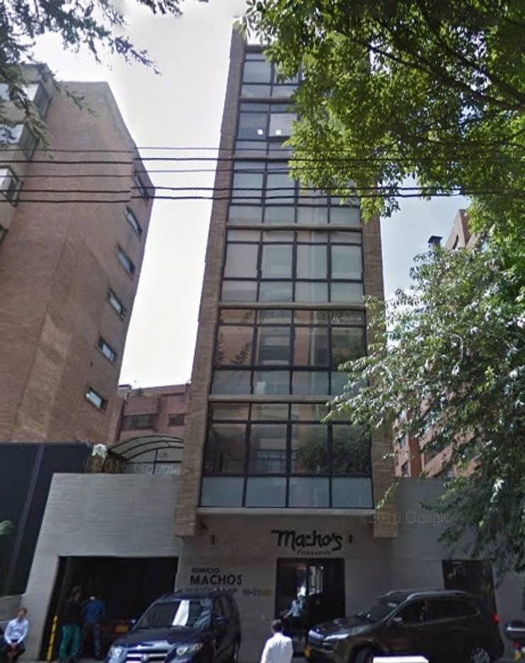 Edificio Peluqueria Macho´s: Casas de estilo  por Coestructural sas