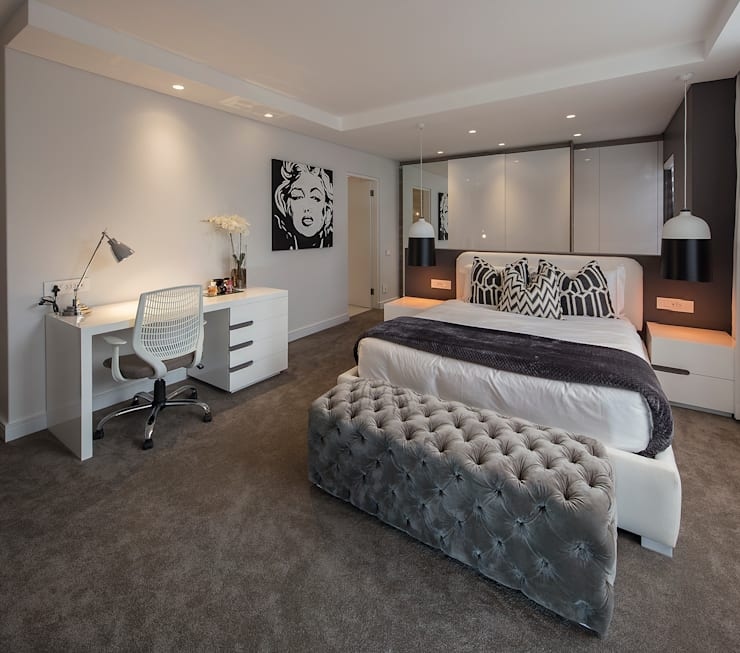 :  Bedroom by Spegash Interiors
