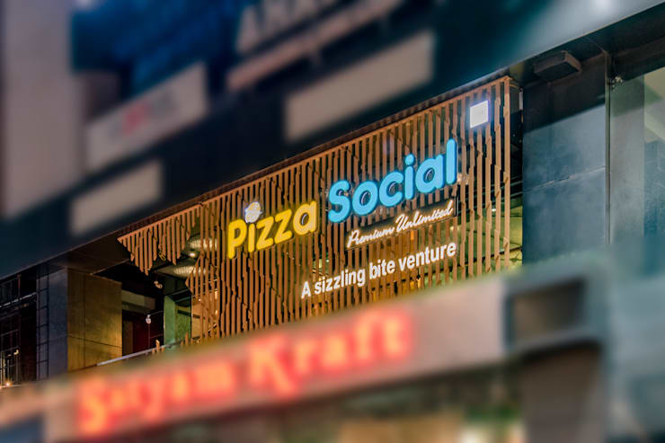 PIZZA SOCIAL:   by The Interior Workshop