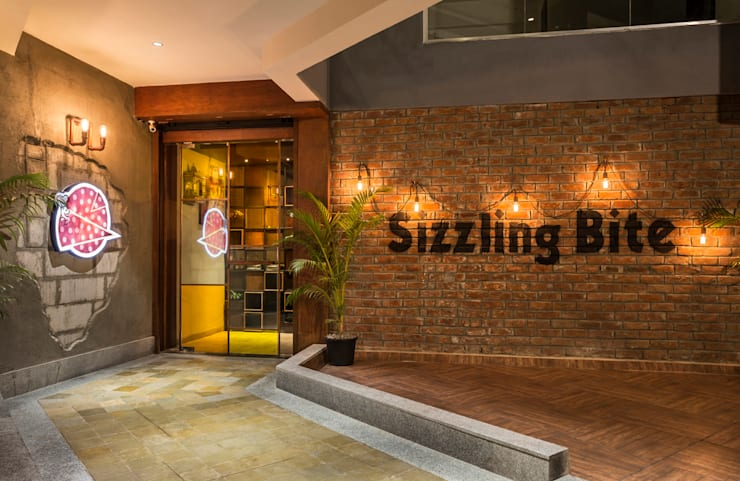 SIZZLING BITE:   by The Interior Workshop