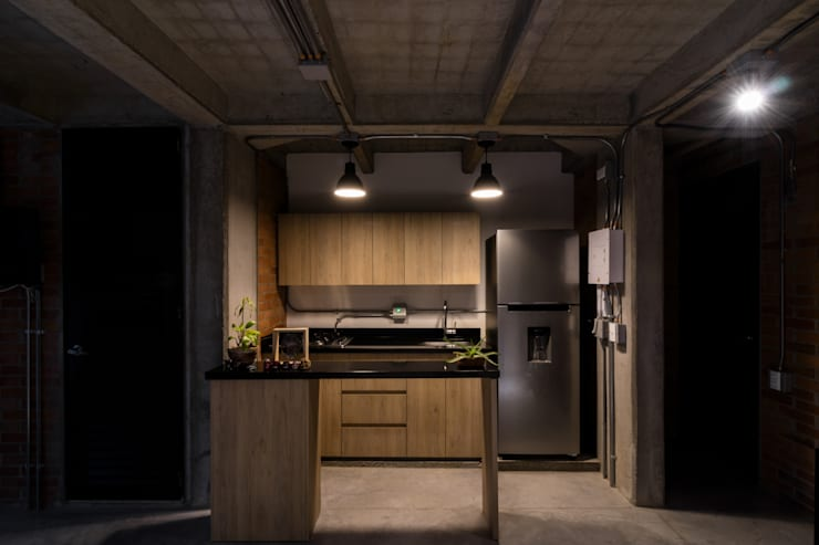 EDIFICIO 80 – 19: Cocinas de estilo  por PLANTA BAJA ESTUDIO DE ARQUITECTURA