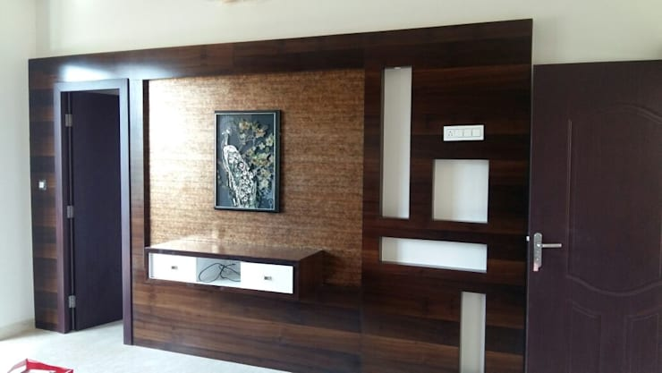 Wall Unit: modern Bedroom by Arch Point