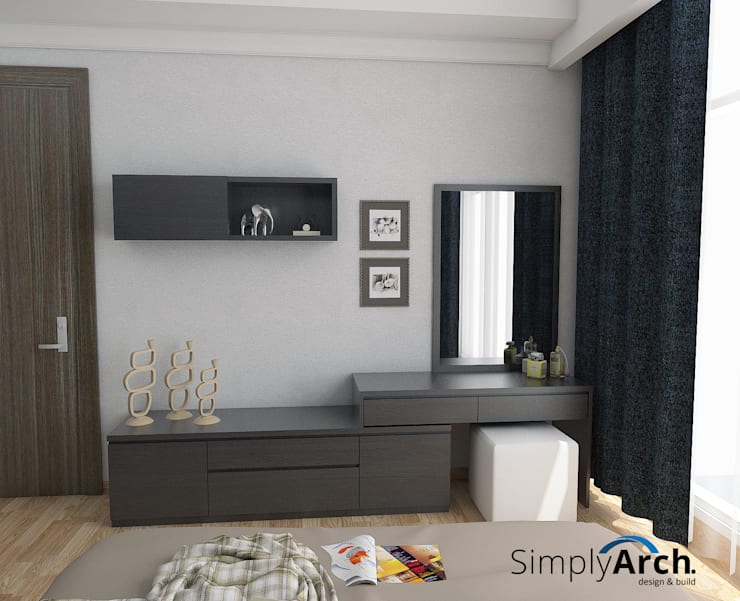Make Up Table:  Kamar Tidur by Simply Arch.