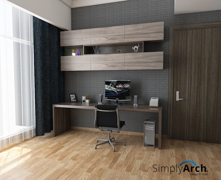 Workstation:  Ruang Kerja by Simply Arch.