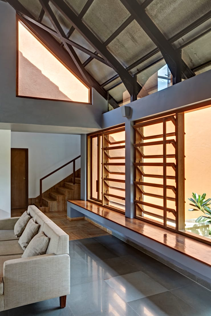 Kashid House:  Bungalows by DCOOP ARCHITECTS,Rustic