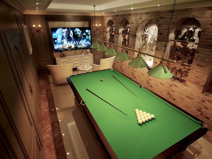 Salas multimedia de estilo moderno por công ty cổ phần xây dựng mỹ kiến