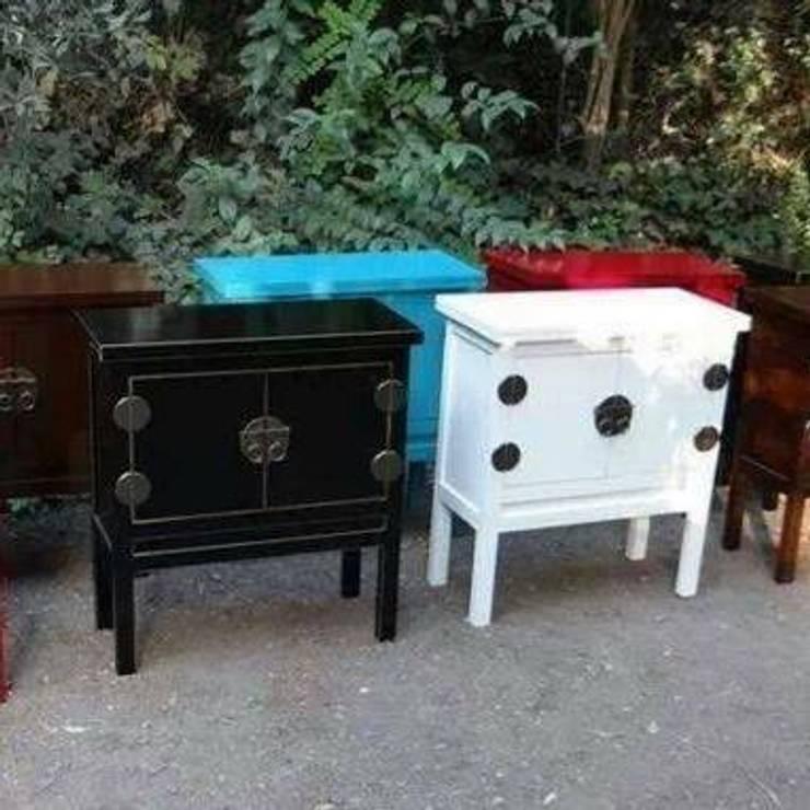 Muebles Chinos: Hogar de estilo  por decorativa.cl
