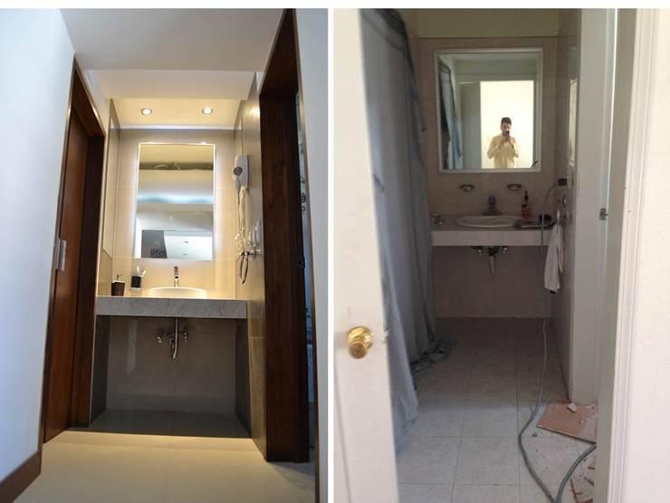 LAVABO: Baños de estilo  por bouchez arquitectos