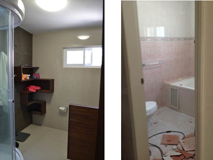 浴室 by bouchez arquitectos