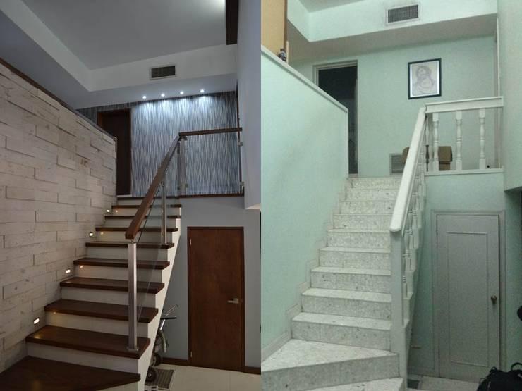 Corridor & hallway by bouchez arquitectos