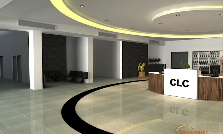Lobby:   by Arch Point