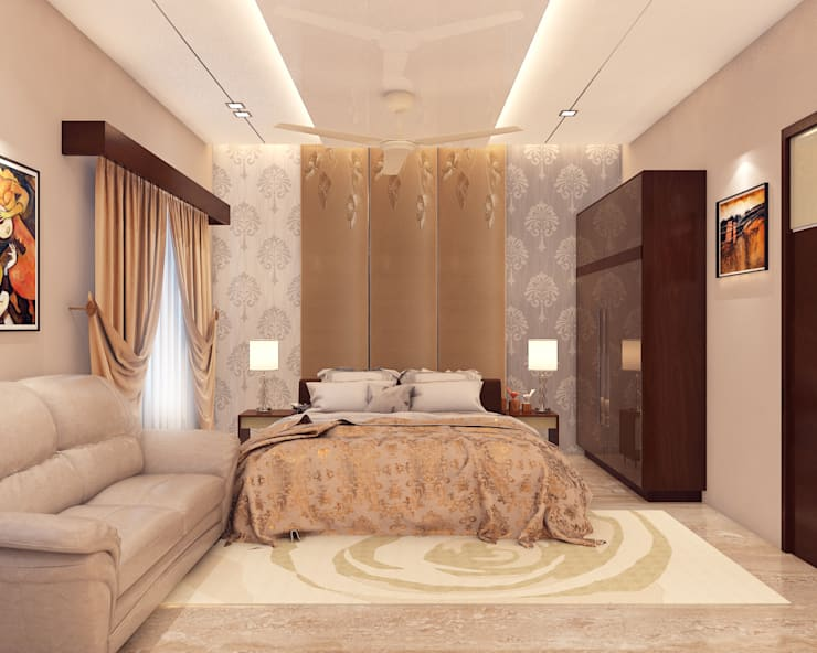 Residence Design:  Bedroom by Arch Point