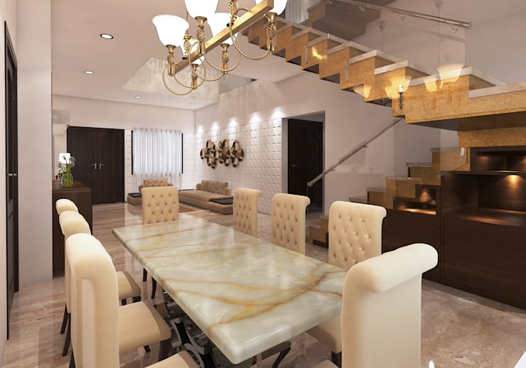 Dinning Area: modern Dining room by Arch Point