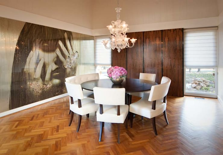 Modern Dining Room: modern  by S. T. Unicom Pvt. Ltd. ,Modern