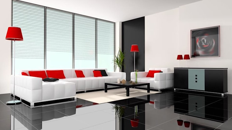 Luxury Interior Styling.. :  Living room by Spacio Collections