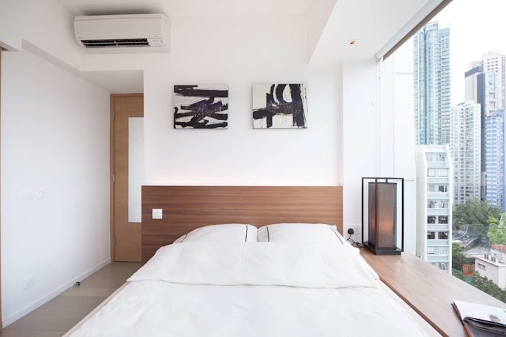 Cherry Crest B:  Bedroom by Clifton Leung Design Workshop, Classic