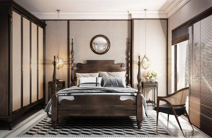 Schlafzimmer von V Design Studio