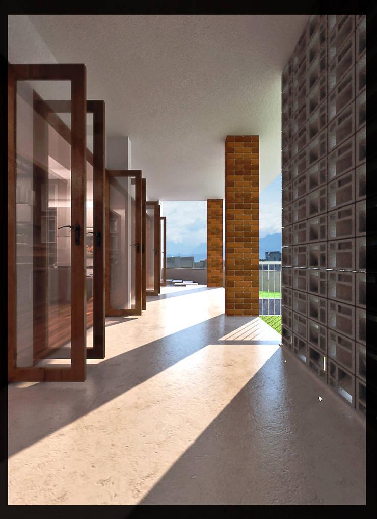 Rumah Permata Puri:  Rumah by SUKAM STUDIO