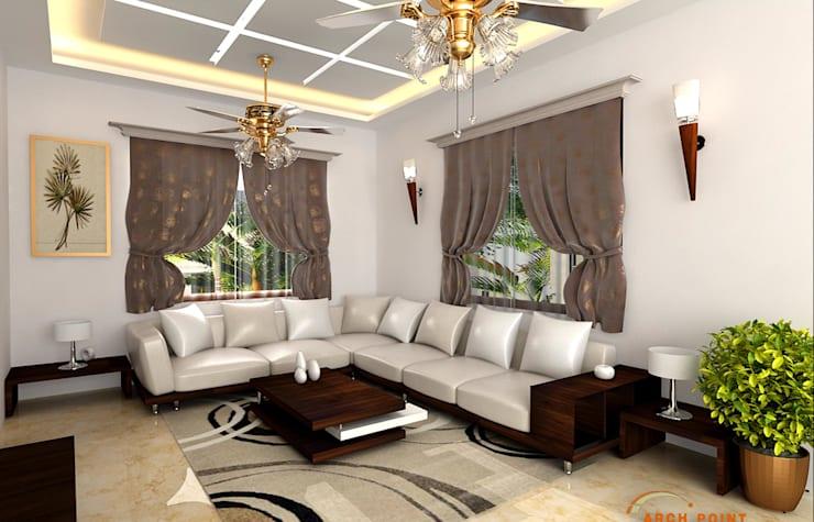 Living/Drawing Room:   by Arch Point