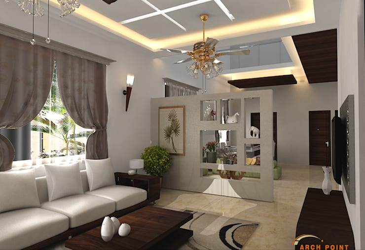 Living Area:   by Arch Point
