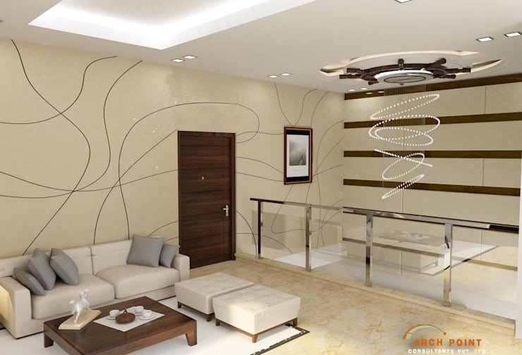 Living Space:   by Arch Point