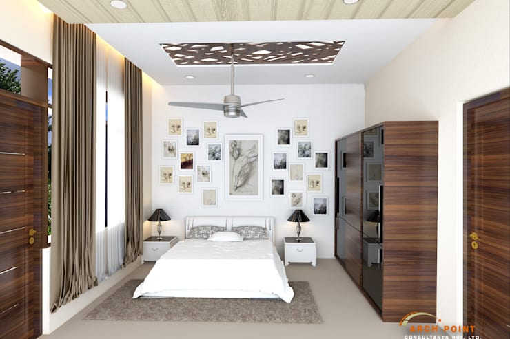 Bedroom:   by Arch Point