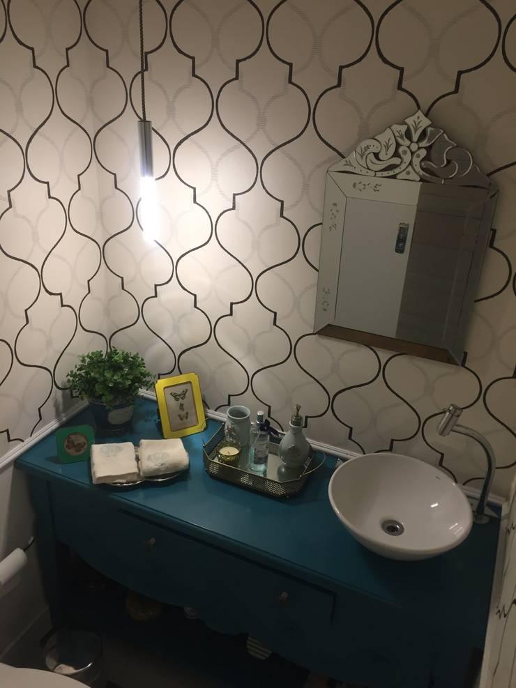 Casa de Praia:  Bathroom by brunadiogenes.liviafeitosa