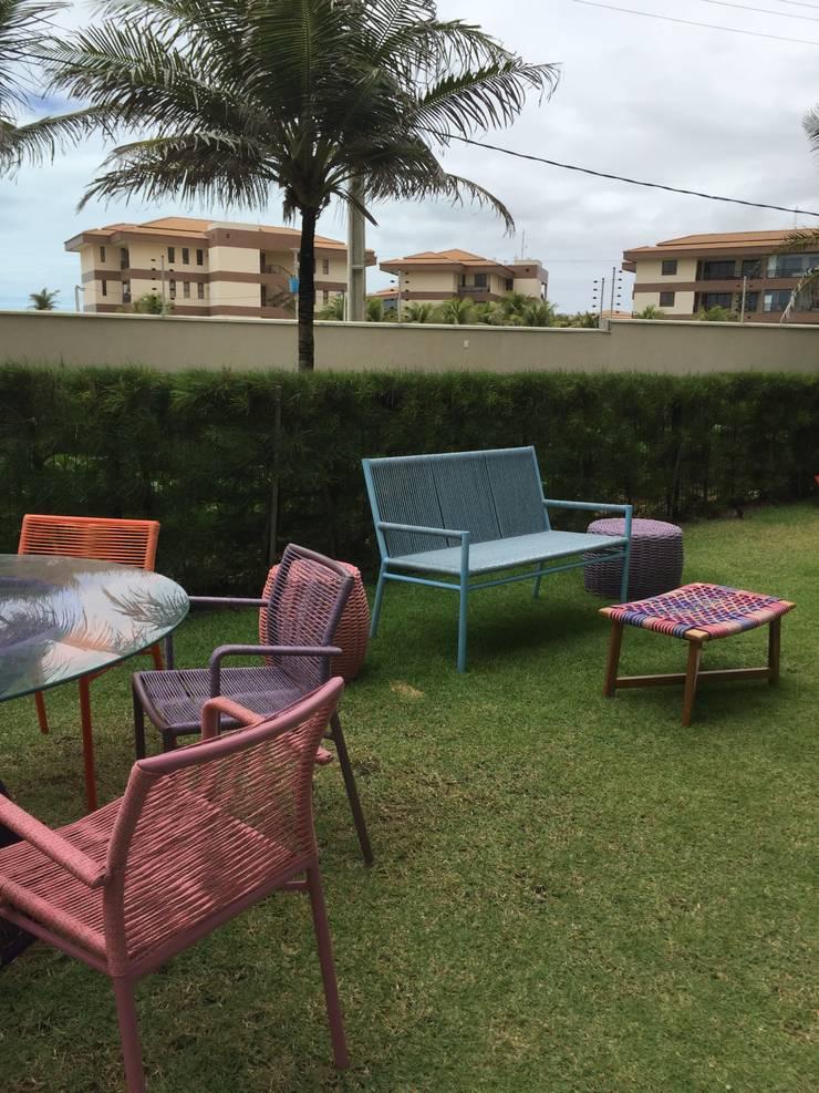 Casa de Praia:  Garden by brunadiogenes.liviafeitosa