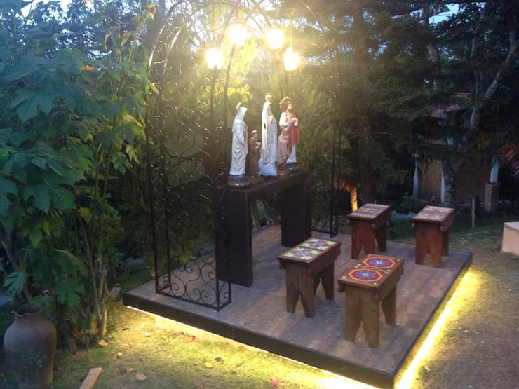 Casa da Serra: modern Garden by brunadiogenes.liviafeitosa