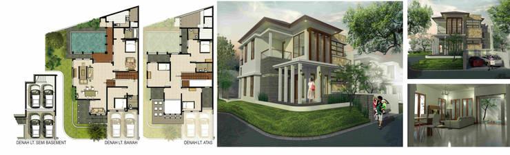 Rumah tinggal Kebayoran Village Bintaro:   by Manasara Design&Build