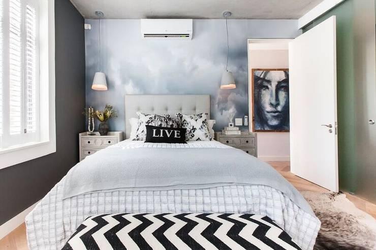 Bedroom: industrial  by Urban Lifestyle Interior Design, Industrial