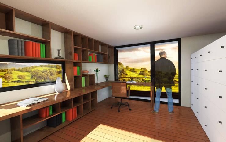 Oficina:  de estilo  por artefacto arquitectura