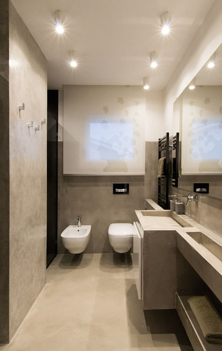Bathroom by Fermox Solutions , Modern Concrete